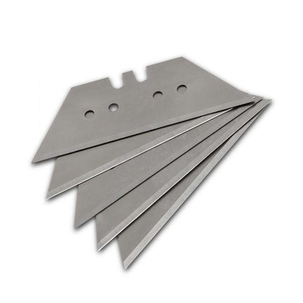 5 Stück Trapezklingen für Cuttermesser - 61 x 19 mm