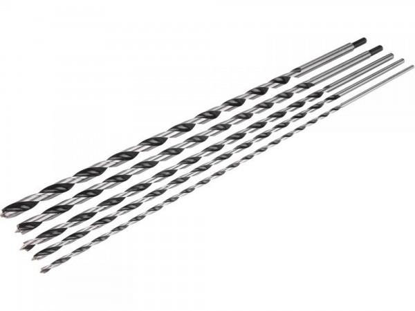 5 tlg. Holzbohrer Satz - 6 bis 14 x 600 mm