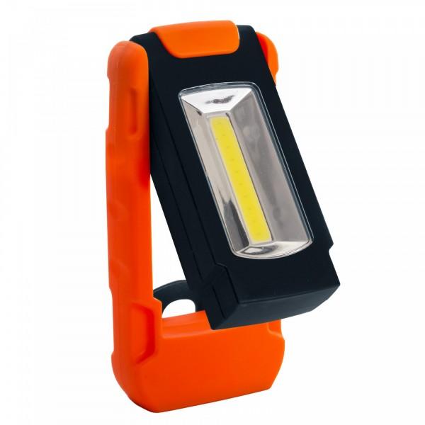 Ausklappbare 1 Watt LED Arbeitsleuchte mit Soft-Touch-Hülle