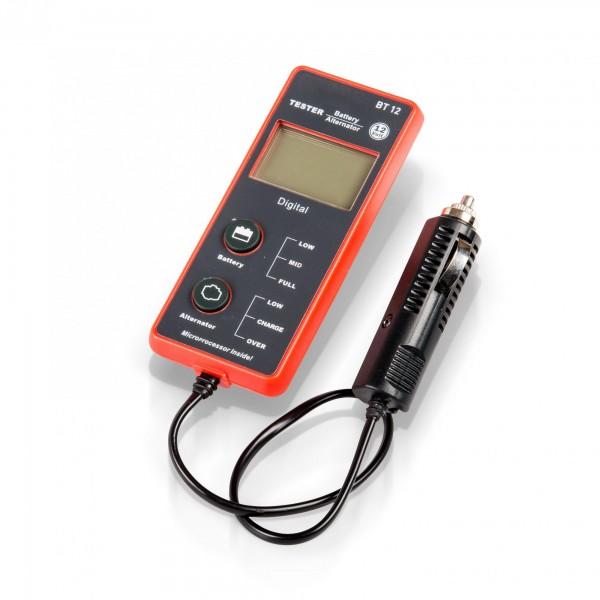 12 Volt KFZ Batterie- & Lichtmaschinentester