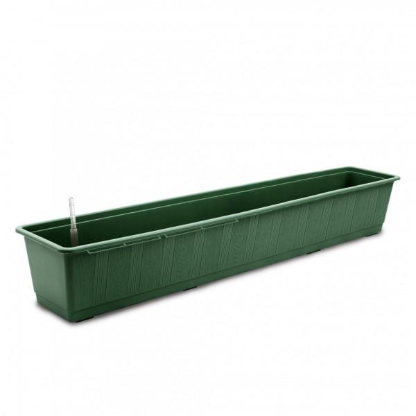 Bewässerungskasten 100 cm AquaGreen dunkelgrün