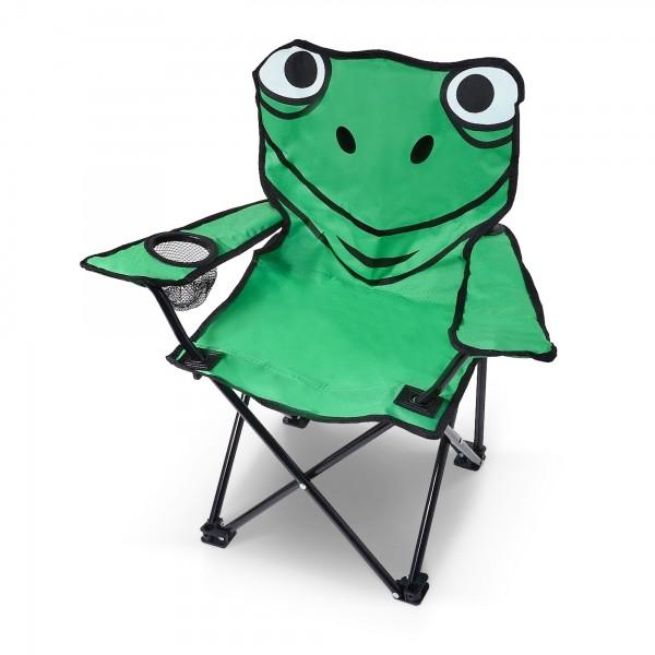Klapp-Campingstuhl Frosch für Kinder bis 40 kg