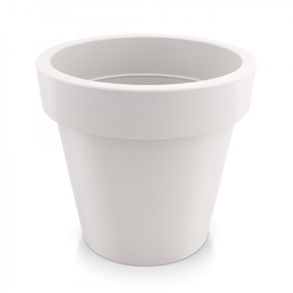Kunststoff Blumentopf - weiß - Höhe 271 mm