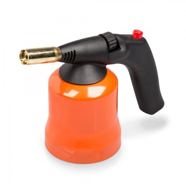 1,7 KW Lötlampe mit Piezozündung - 2 cm Brennkopf