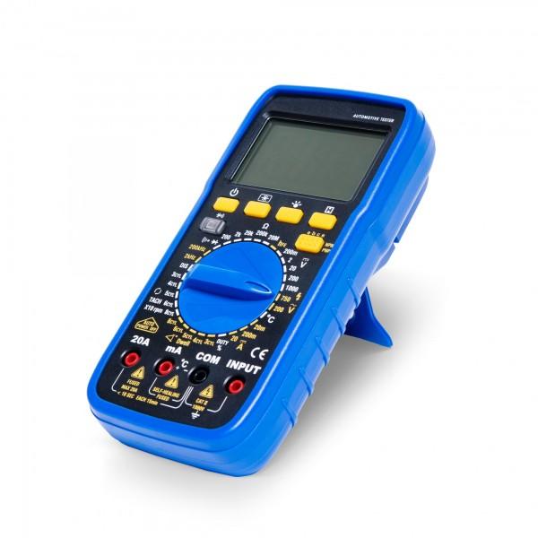 Digitales Multimeter mit Zubehör und Schutzhülle - 195 x 90 x 55 mm