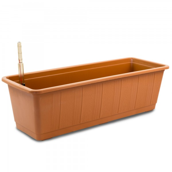Bewässerungskasten 60 cm AquaGreen terracotta