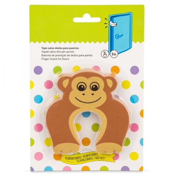 Schaum Türstopper Affe für Türblätter - 100 x 100 x 13 mm
