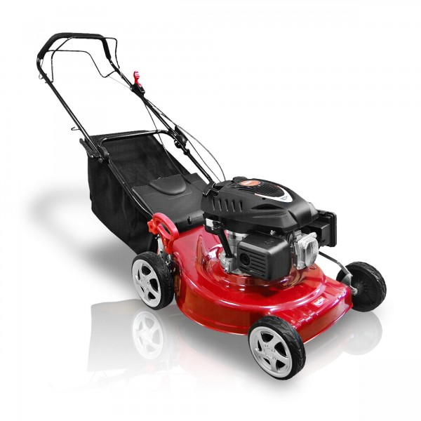 Berlan Benzin Rasenmäher mit Radantrieb - 5,5 PS / 510 mm