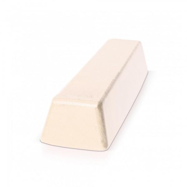 500 g Block Polierpaste für Hartmetall - fein/weiß