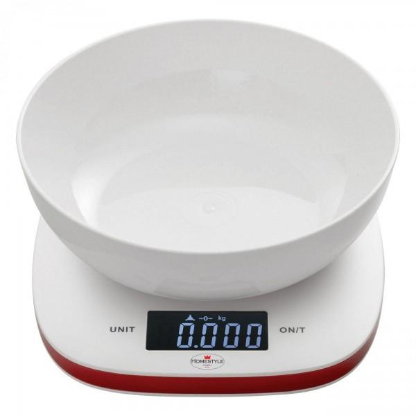 Digitale Comfort LCD Küchenwaage Berlin - 1 L Behälter - bis 5 kg
