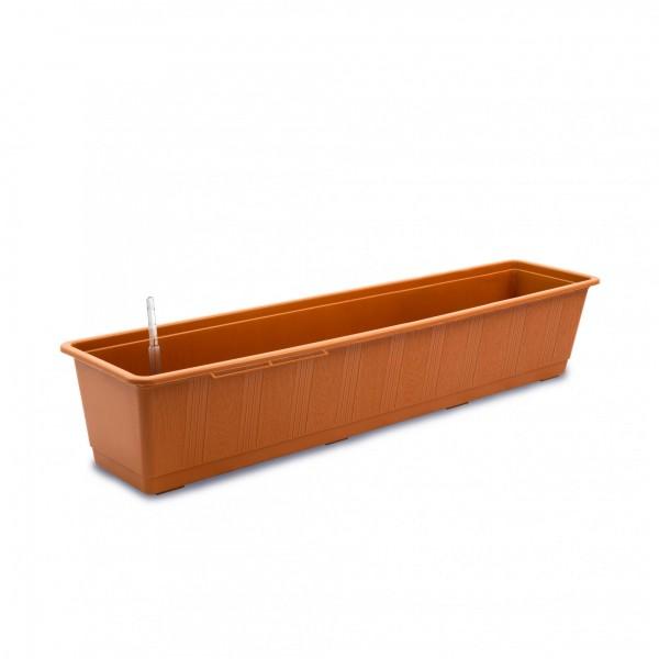 Bewässerungskasten 80 cm AquaGreen terracotta