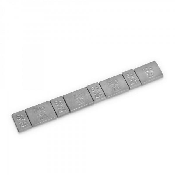 100 x Holzinger Zink Klebegewichte für Radwuchtmaschinen