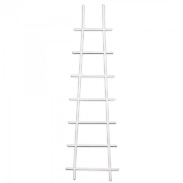 Kunststoff Pflanzstütze in Leiterform - weiß - 200 x 670 mm