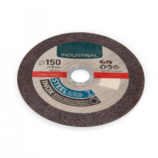 150 mm Trennscheibe für Stahl / Edelstahl - 1 mm Dicke