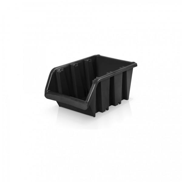 Lagerbox Größe 1 - schwarz 8 x 11,5 x 6 cm