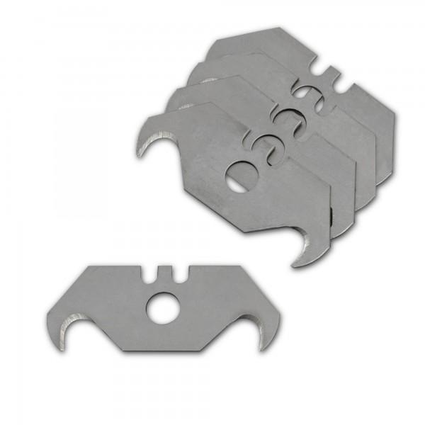 5 Stück Hakenklingen für Cuttermesser - 49 x 19 mm