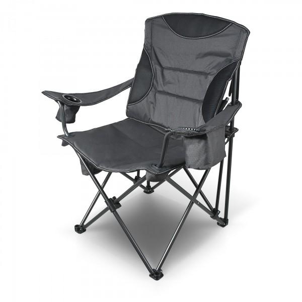 XXL Premium Campingstuhl mit Rücken- & Armlehne 101cm