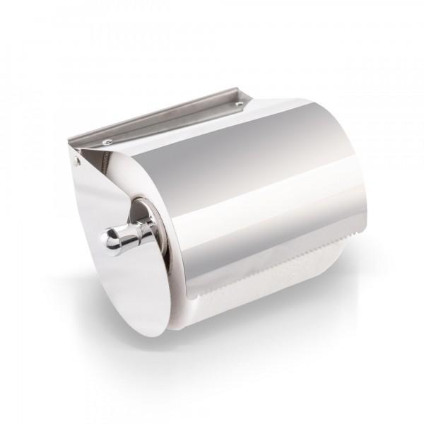 Toilettenpapier Rollenhalter aus Edelstahl - klappbar