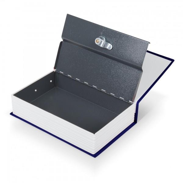 Buchtresor blau - 24,5 x 15,5 x 5,5 cm