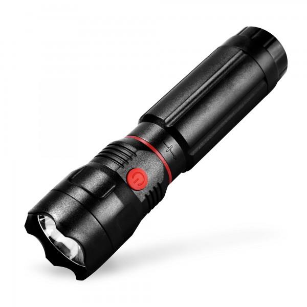 3W LED Taschenlampe 100 / 150 Lumen COB+CREE