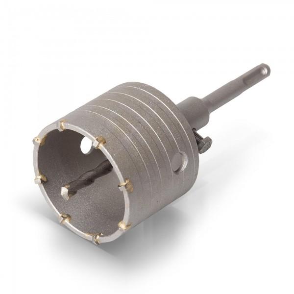 SDS Plus Bohrkrone - 73 mm Durchmesser - 8 Segmente
