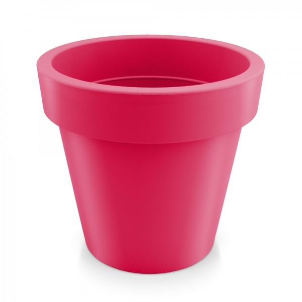 Kunststoff Blumentopf - rotviolett - Höhe 120 mm