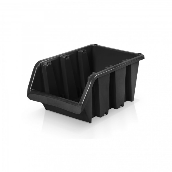 Lagerbox Größe 4 - schwarz 16 x 23 x 12 cm