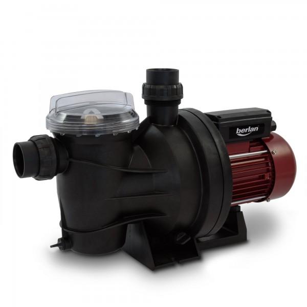 Berlan - 800 Watt Schwimmbadpumpe BSP800-250 - 15 m³/h