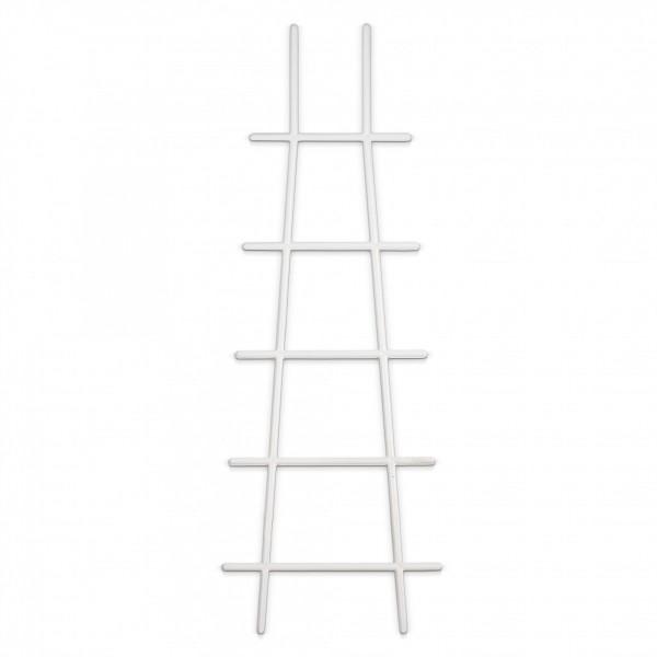 Kunststoff Pflanzstütze in Leiterform - weiß - 183 x 500 mm