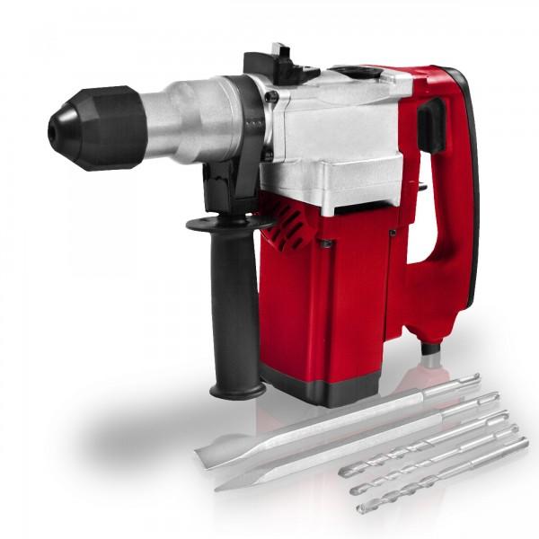 Berlan 1100 Watt SDS Bohrhammer BBMH1100 inkl. Bohrer & Meißel