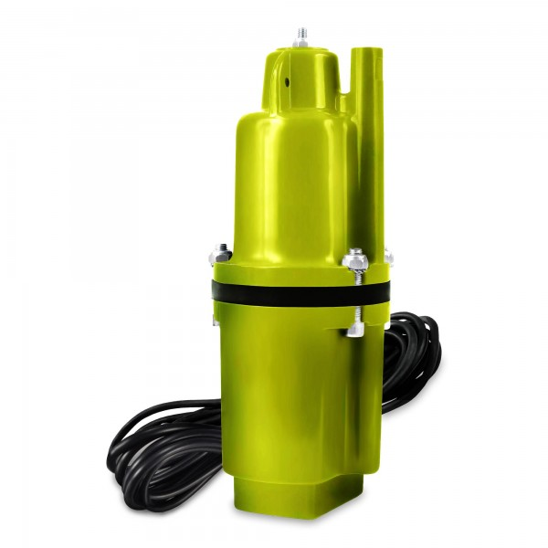 300 Watt Membran-Tiefbrunnenpumpe - 1400 l/h - 10m Kabel