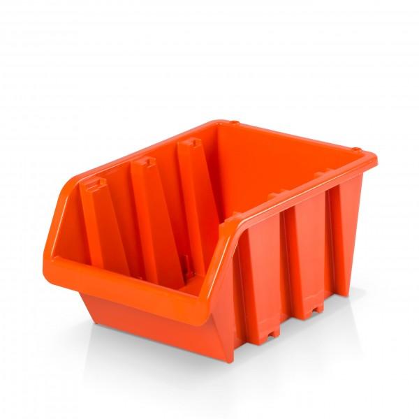 Lagerbox Größe 4 - rotbraun 16 x 23 x 12 cm