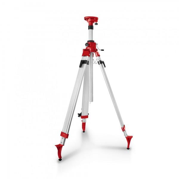 Berlan Kurbelstativ für Laser und Nivelliergeräte 1,20 - 2,40 m