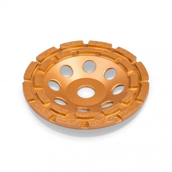 150 mm Diamantschleiftopf - 24 Segmente - 2 Reihen