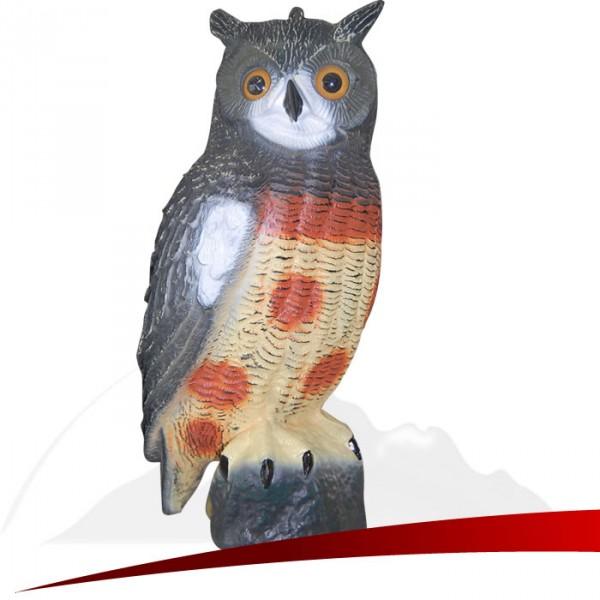 Kunststoff Gartenfigur Waldohreule - 40 cm