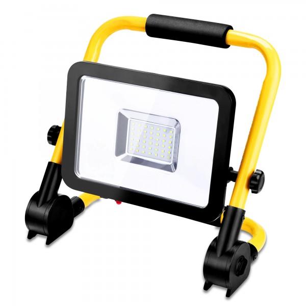 30 Watt LED-Baustrahler inkl. Ständer - 3200 Lumen