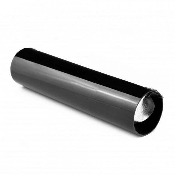 PVC Röhrenfalle - Lebendfalle für Nager mit Sichtschlitz - schwarz