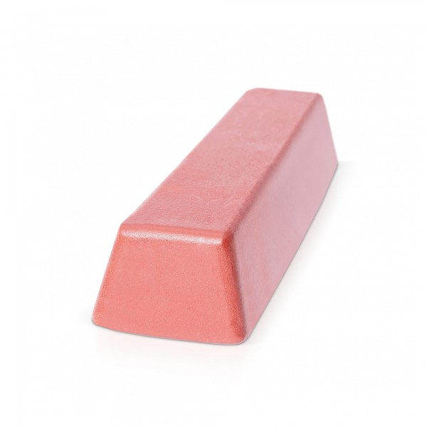 500 g Block Polierpaste für Gold und Silber - fein/rot