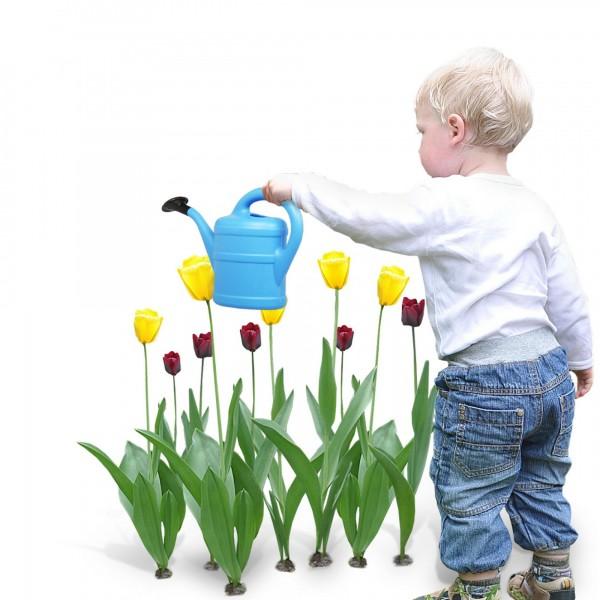 Kindergießkanne 1 Liter hellblau