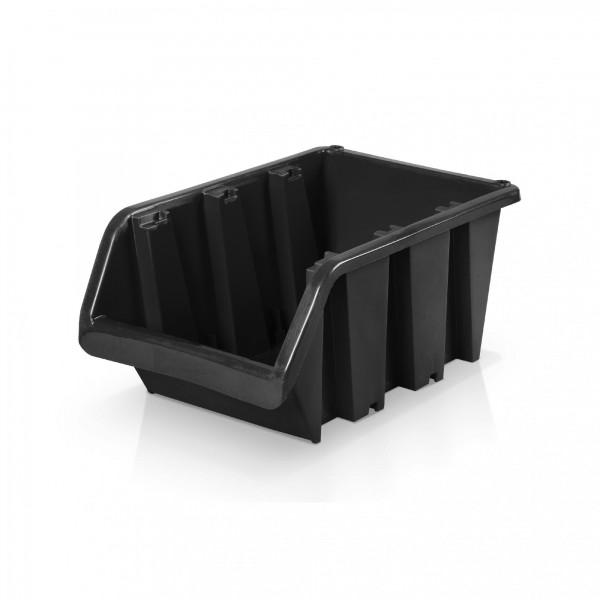 Lagerbox Größe 5 - schwarz 20 x 29 x 15 cm