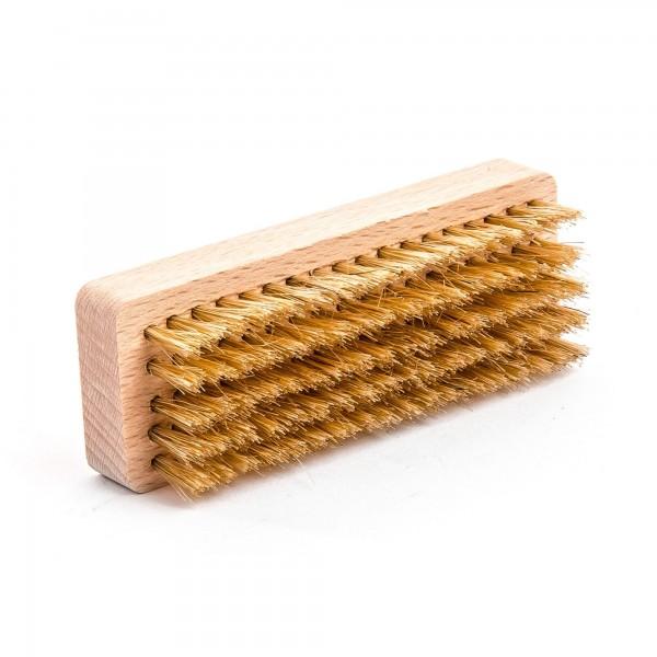 Holz Handbürste mit Naturborste - 10 cm Länge