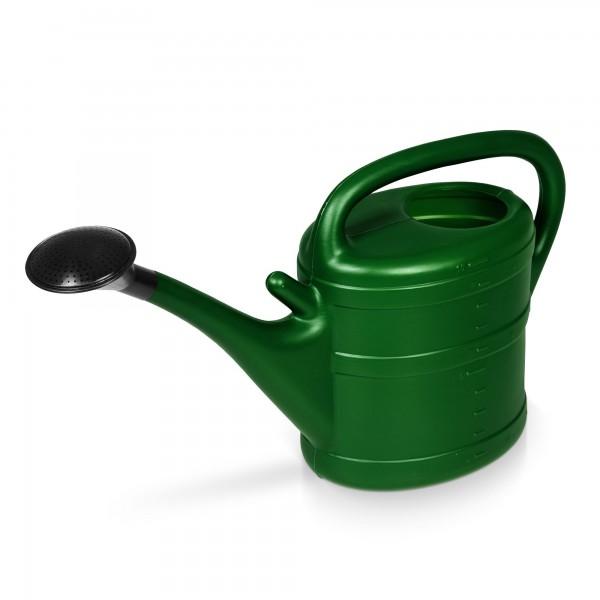 Gartengießkanne 10 Liter dunkelgrün