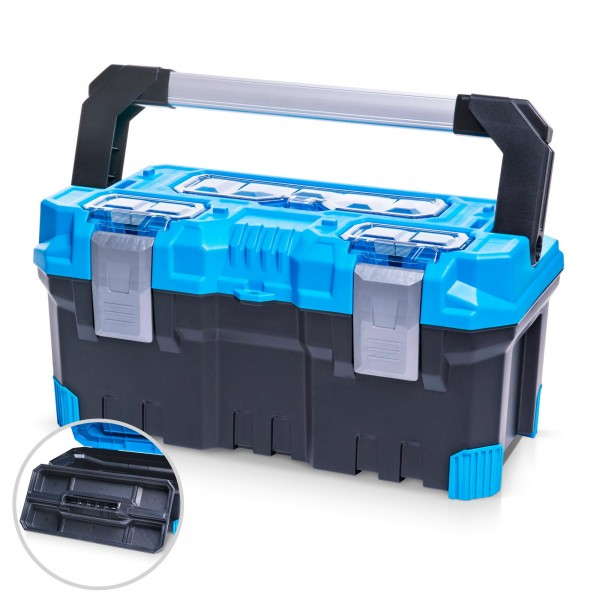 Werkzeugkoffer 50 x 26 x 24 cm -BLUE PREMIUM LINE-
