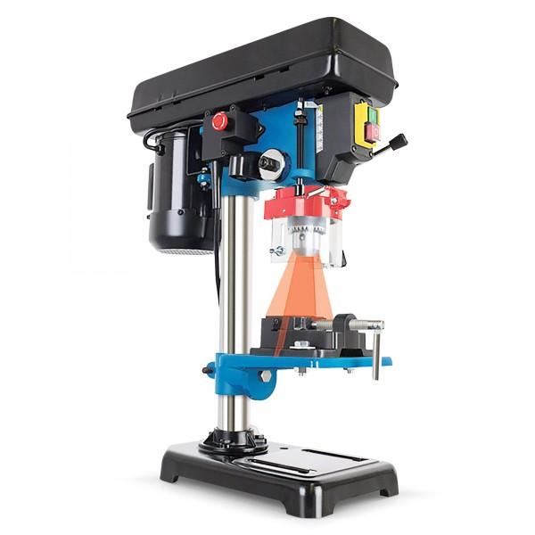 500 W Säulenbohrmaschine + Laser - 5 Gänge - 3-16 mm