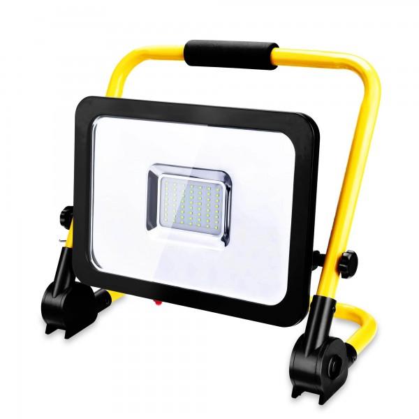 50 Watt LED-Baustrahler inkl. Ständer - 4500 Lumen