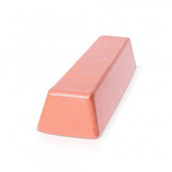 500 g Block Polierpaste für Metall - braun/grob
