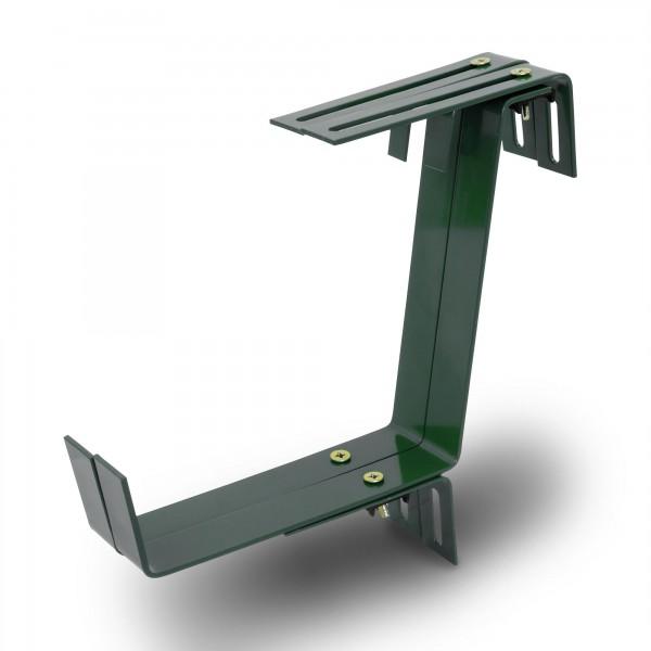 Blumenkastenhalter TYP E grün bis 35 kg