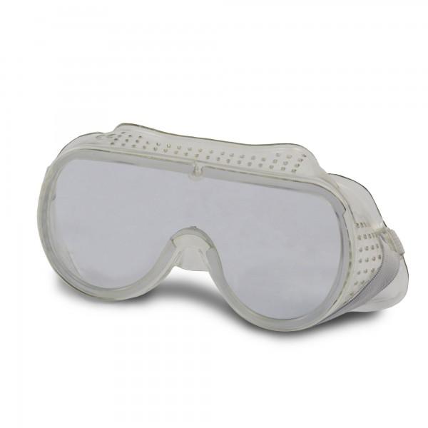 Vollsicht Schutzbrille nach EN166 - transparent - belüftet