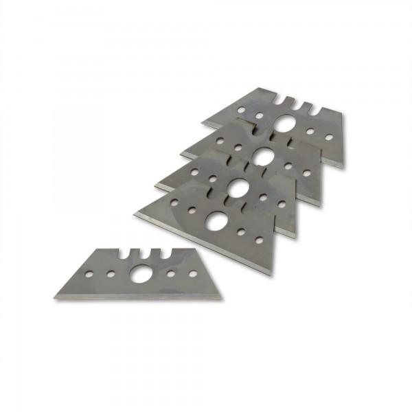 5 x Ersatzklinge für Kantenhobel - Trapezform - 53 x 19 mm