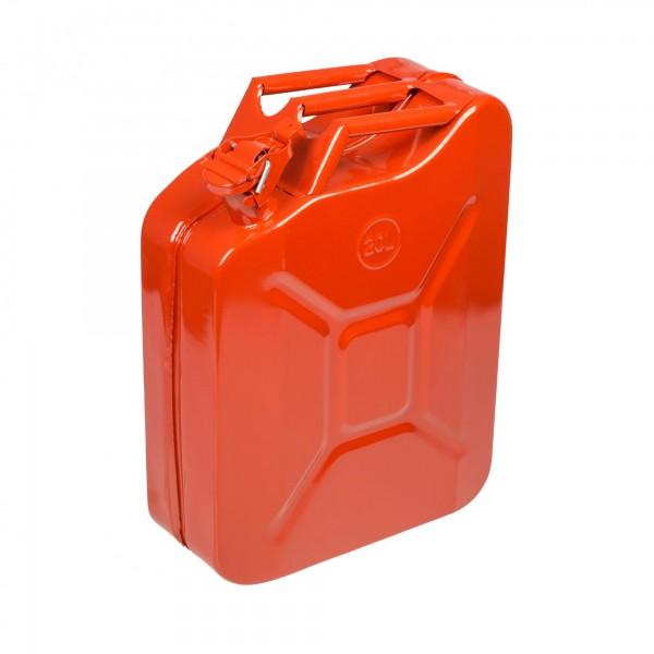 20 Liter Metall Benzinkanister - 350 x 160 x 460 mm